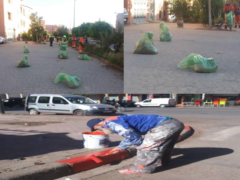 15d3a3a16 مجلس مقاطعة المنارة بمراكش يباشر عملية نظافة واسعة بمنطقة النفوذ ...