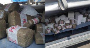 إجهاض محاولة لتهريب كمية كبيرة من المخدرات بميناء طنجة المتوسط