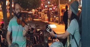 فن الشارع : موسيقى البيرو تجوب حي المسيرة الأولى بمراكش