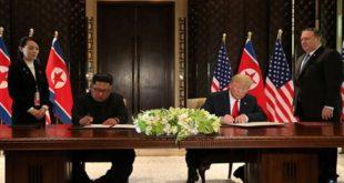 ترامب: إنهاء الحرب في  شبه الجزيرة الكورية سيتم «قريبا»