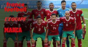 صحف عالمية تعلق على هزيمة المنتخب المغربي أمام إيران