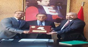 إتفاقية شراكة بين جامعة محمد الخامس بالرباط ومعهد القانون الخليجي للتدريب  الأهلي بالكويت