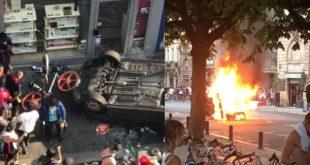 """""""تخريب وفوضى ونهب"""" ترافق احتفالات الفرنسيين بالتتويج"""