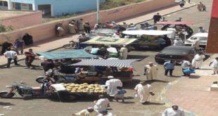 سكان حي الأزهر بالدار البيضاء ينتفضون ضد الباعة المتجولين