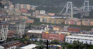 بالفيديو والصور: انهيار جسر في إيطاليا… وسقوط عشرات القتلى والجرحى