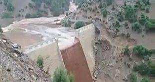 قبيلة بني ريص إلى الشمال الشرقي من المغرب تتخوف تصدعات السد بعد الأمطار الطوفانية التي عرفتها زوال الجمعة