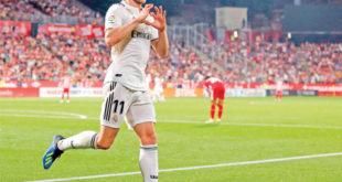 """""""غاريث بيل"""" على موعد مع تسجيل الأهداف لفريقه ريال مدريد  ضد ليغانيس."""