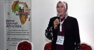 """على هامش """"أفريستي 2018""""- نزهة الوفي: تجربة المغرب المتفردة في تدبير النفايات حولت النفايات إلى ورش تنموي"""