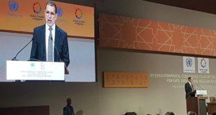 مراكش-تشديد من الملك لتغليب منطق الوحدة على الشعبوية في افتتاح المؤتمر الدولي للهجرة الذي اعتمد ميثاقها العالمي