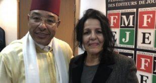 انتخاب بهية العمراني رئيسة جديدة للفيدرالية المغربية لناشري الصحف خلفا لنور الدين مفتاح
