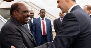 البشير أول رئيس  عربي يزور دمشق منذ اندلاع الأزمة السورية