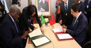 التوقيع بمراكش على اتفاق المقر الخاص للمرصد الأفريقي للهجرة