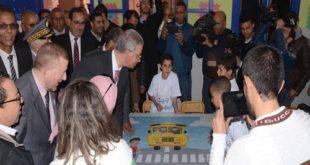 مراكش:بوليف يتلقى ولحلو بيانات أشغال قنطرة الآفاق ويحطان بفرعية تربوية في إطار اليوم الوطني للسلامة الطريقية