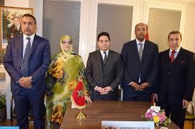 """اعضا الوفد المغربي لمفاوضات """"جنيف"""""""