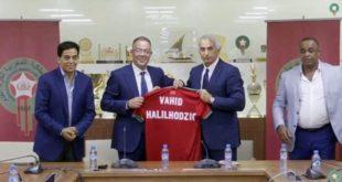 خاليلوزيتش مدربا للمنتخب المغربي لأربع سنوات