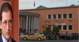 محاكمة مدير الوكالة الحضرية لمراكش (خالد ويا) في حالة {سراح عار من الصحة} بحسب الوكيل العام للملك باستئنافية مراكش وثالثة جلسات المحاكمة في 16 يناير 2020
