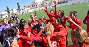 المنتخب الوطني لكرة القدم النسوية يفوز بلقب بطولة شمال إفريقيا
