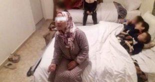 اعتقال  مكرية طردت أسرة من شقتها بسبب عدم اداء السومة الكرائية  ومحسنون يتدخلون