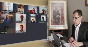 جائحة كورونا: مشاورات بين الحكومة والمهنيين حول استئناف الأنشطة التجارية