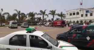 انتحار شرطي بسلاح زميلة في العمل ببوزنيقة