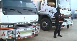 حجز طن و766 كلغ من المخدرات على متن شاحنة لنقل البضائع بالبيضاء