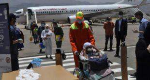 عودة 160 من المغاربة العالقين بإسبانيا من ضمنهم 17 من الرضع