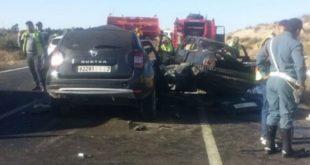 قصبة تادلة: حادث سير مأساوي يودي بحياة سيدة واثنين من أبنائها