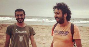 توقيف الصحافيين عمر الراضي وعماد استيتو بمدينة الدار البيضاء