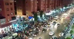 مراكش: ساكنة منطقة الحي الحسني تنوه بإغلاق شارع الداخلة و الأزقة المجاورة له في حدود التاسعة ليلا