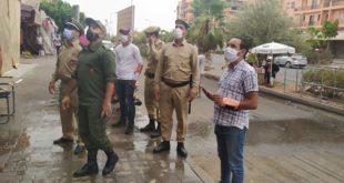 بالصور: السلطات المحلية تباشر عملية  تحرير الملك العمومي بابواب مراكش