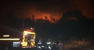 مقتل مواطن إفريقي على إثر حريق بإحدى غابات طنجة واعتقال 13 من رفاقه