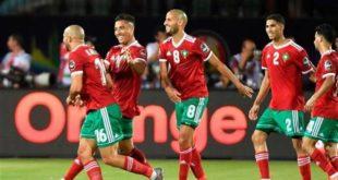 المنتخب المغربي يفوز على أفريقيا الوسطى بأربعة أهداف
