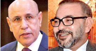 الملك محمد السادس يٌعرب عن استعداده زيارة موريتانيا ويدعو رئيسها لزيارة المغرب