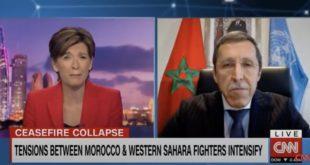 """عمرهلال ل CNN: البوليساريو """"أقصت نفسها"""" من أي مشاركة في مسلسل المفاوضات + فيديو"""