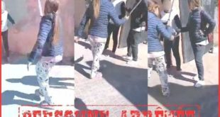 """نشر مقطع """"فيديو"""" لتلميذة تهدد زميلاتها بسيف يتسبب في اعتقالها بسطات"""