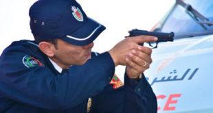 """مفتش شرطة يضطر لاستعمال سلاحه الوظيفي في تدخل أمني بسبت """"أولاد النمة"""""""