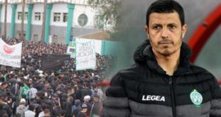 جمال السلامي يرضخ للضغوط ويقرر الرحيل عن الرجاء البيضاوي