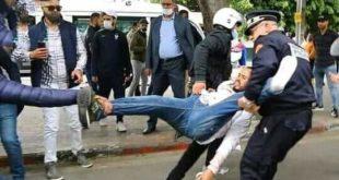 """نقابة تعليمية تعلن خوض إضرابا وطنيا ووقفات احتجاجية ردا على اعتقال """"الأساتدة المتعاقدين"""""""