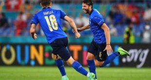 كاس اوروبا: إيطاليا تحجز أولى بطاقات ثمن النهائي