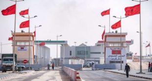 المغرب يعتزم إقامة مناطق لوجستيكية للتوزيع والتجارة بالكركرات