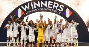 منتخب فرنسا يُتوّج بِكأس دوري الأمم الأوروبية + فيديوة